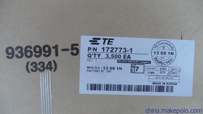tyco/防水/汽车/连接器/代理商/1-480705-2