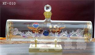 天津手工艺酒瓶采购 宏艺玻璃制品订制加工