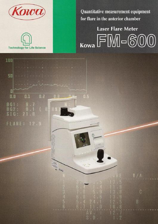 KOWA日本FM-600房水闪辉测量仪