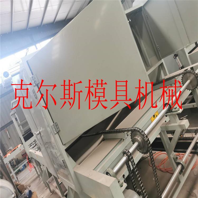 杭州厂家供应彩石金属瓦设备彩色蛭石瓦生产线