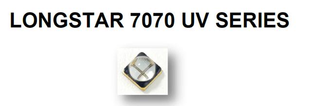 365nm大功率紫外美甲固化UVALED7070封装