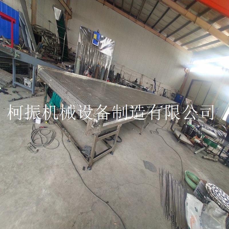 重载链板输送机 不锈钢大型输送设备商家定制